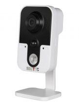 IP видеокамера для квартиры, офиса, магазина с микрофоном и динамиком IL-HIP303W-1M-ZY