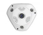 IP видеокамера IL-HIP360-1.3M-VR обзор 360 градусов Fisheye