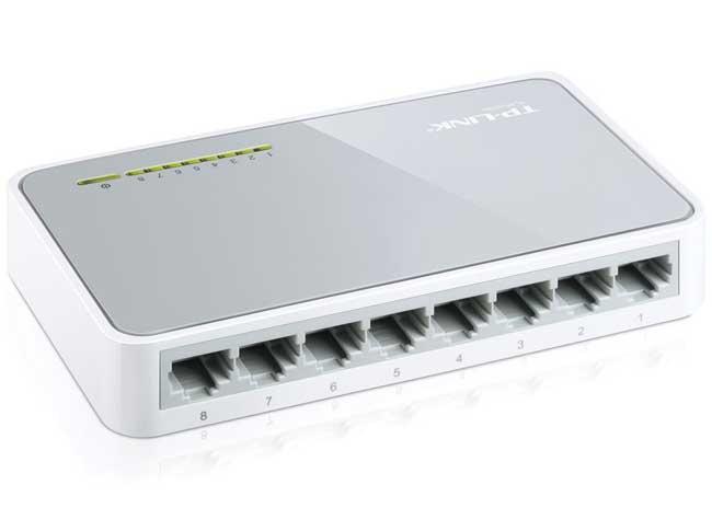 Сетевой коммутатор TP-LINK 8 портов